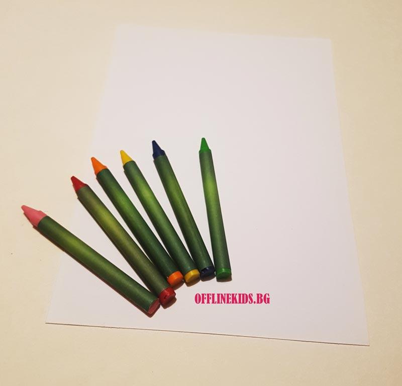 Техника за рисуване Гратаж - Офлайн Кидс